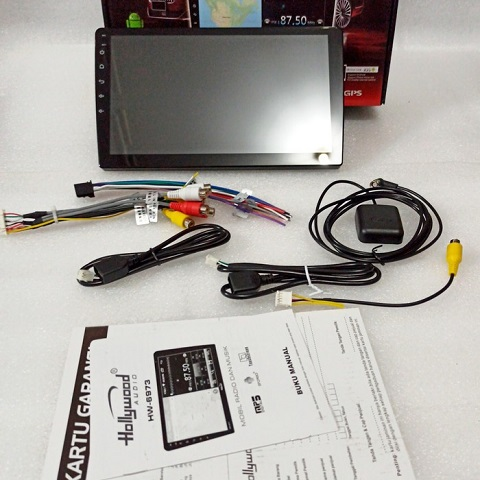 Headunit Android Deckless Android Hollywood 10 inch