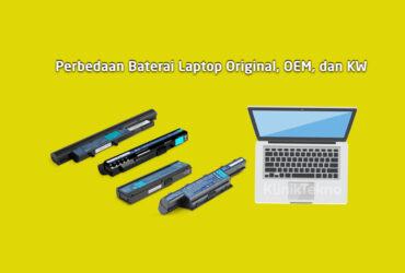 Cara Cek Baterai Laptop Ori dan KW