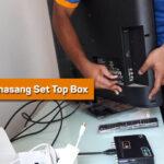Cara Memasang Set Top Box