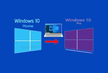 Cara Upgrade Windows 10 Home ke Pro