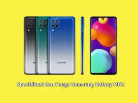 Spesifikasi dan Harga Samsung Galaxy M62 di Indonesia