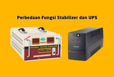 Perbedaan Kegunaan Stabilizer dan UPS