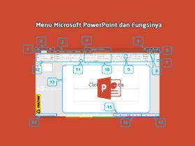 Bagian-bagian Menu Microsoft PowerPoint dan Fungsinya